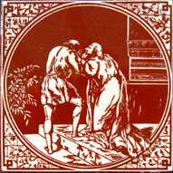 01 - Biblical Scenes - Minton Hollins & Co