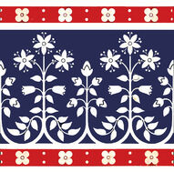 Minton Hollins & Co - Gothic Revival Border Tile 1