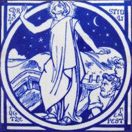Christ Stilling the Tempest - J Moyr Smith - Minton China Works