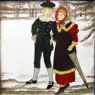 Old English - February - Wedgwood