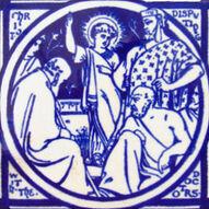 Christ Disputing with the Doctors - J Moyr Smith - Minton China Works