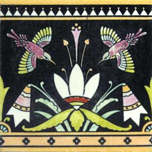 Bird Frieze Tile Minton Hollins