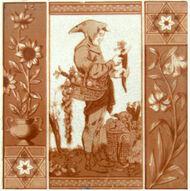 Medieval figure - Webb