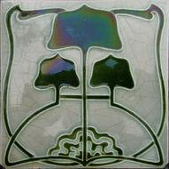 Minton china works - art nouveau no1
