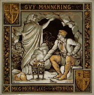 Guy Mannering - Meg Merrilees and Hatteraick