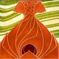 Art Nouveau Tile - Minton China Works