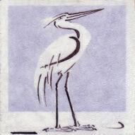 Stork Dunsmore Tiles Polly Brace c1930 Minton Blank