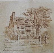 Old Hancock House, Boston