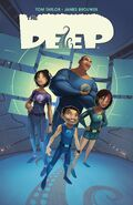 The Deep Graphic Novel Cover