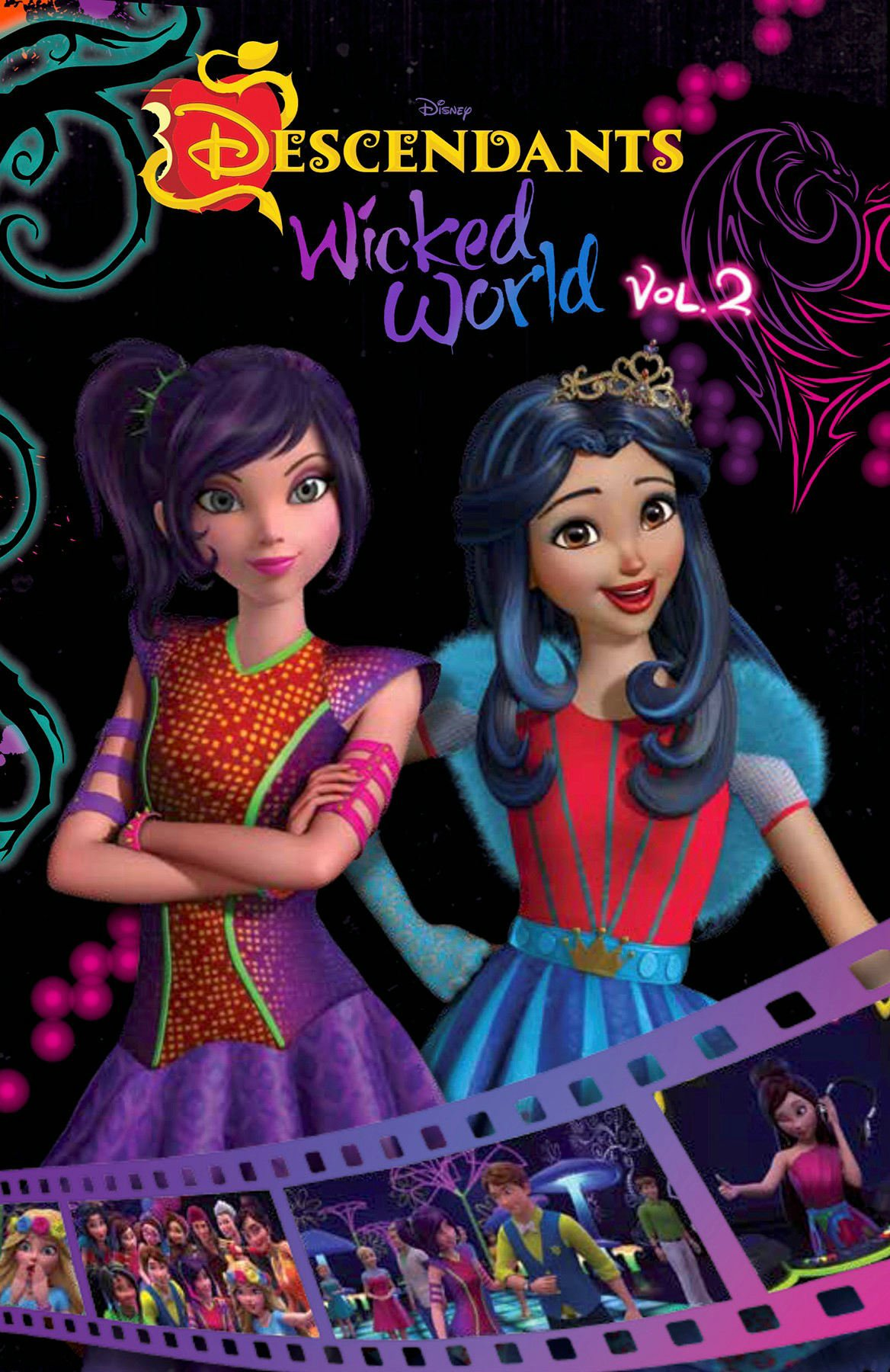 Descendants Wicked World Cinestory Comic Vol 2