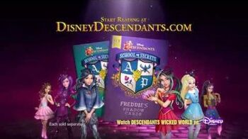 """Freddie's Shadow Cards"" A Descendants Novel Disney Descendants"