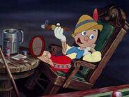 Pinocchio smoking
