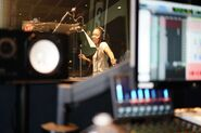 D3 Recording session - China Anne McClain