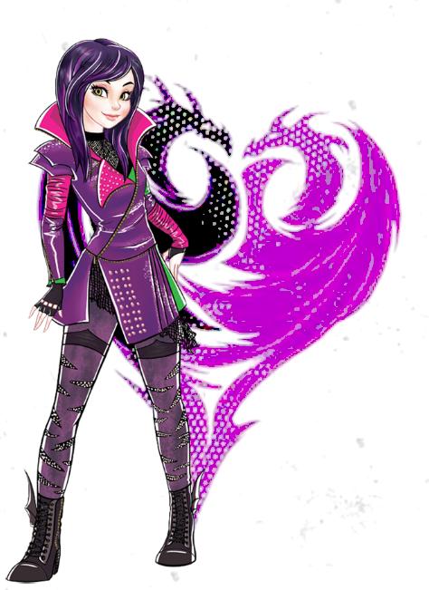 Descendants 2D Characters   Mal.png