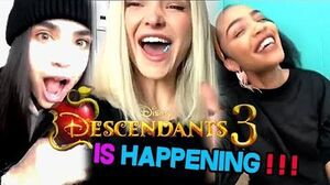 CAST of DESCENDANTS 2 reacts to DESCENDANTS 3