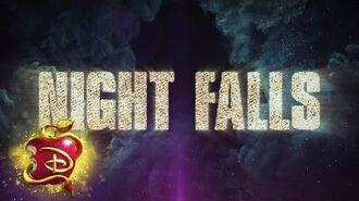 Night Falls ⚔️ Lyric Video Descendants 3