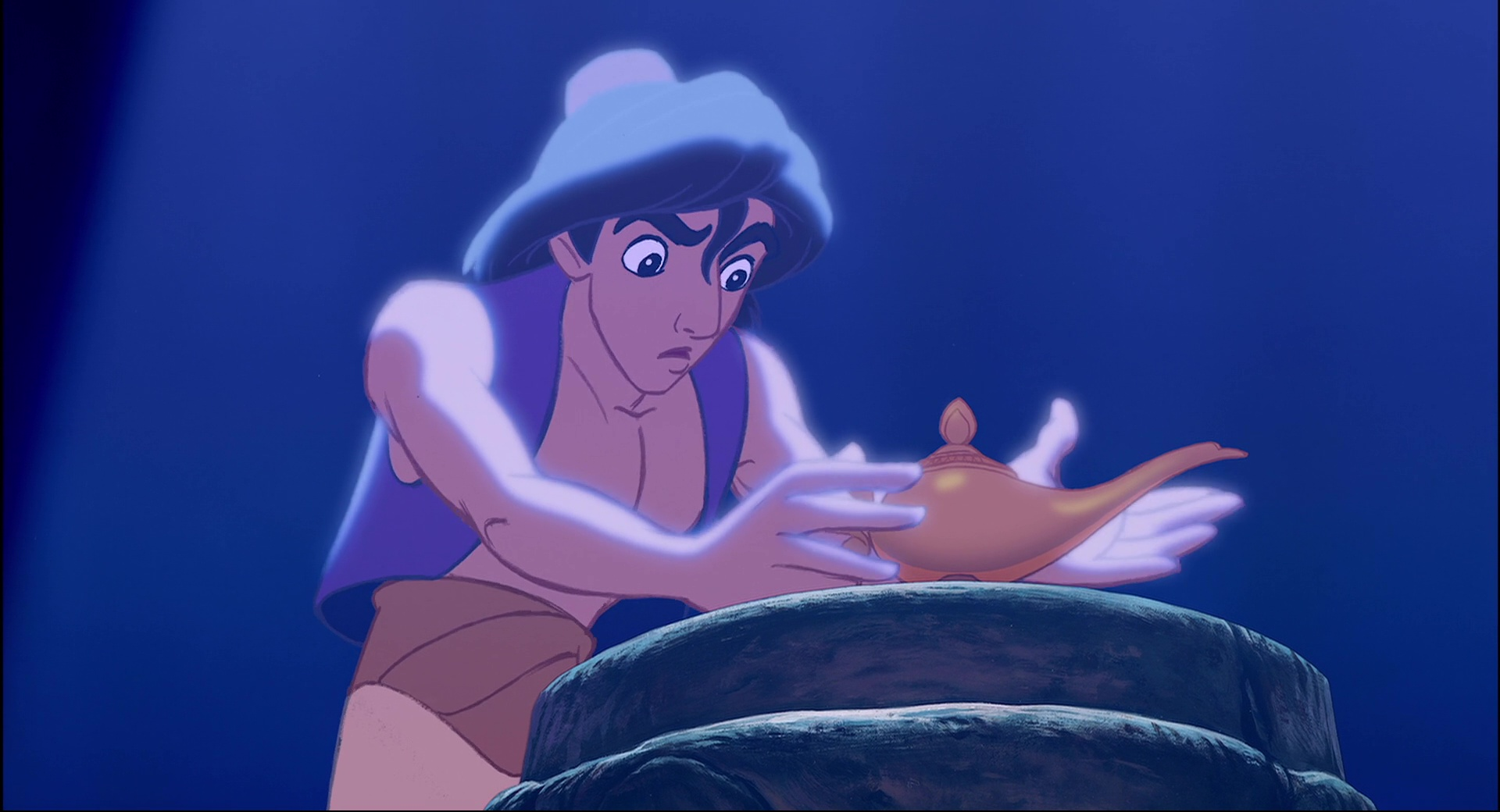 Image - Aladdin-1992-movie-review-magic-lamp-cave-of ...