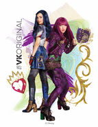 Descendants-2 Promo Mal-Evie