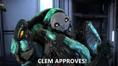 Clem approves