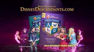 Descendants School of Secrets Freddie's Shadow Cards