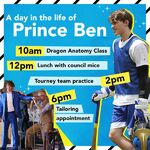A Day in the Life of Prince Ben