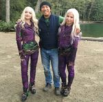 Dove Cameron & Stunt Double