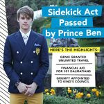 Sidekick Act passed by Prince Ben
