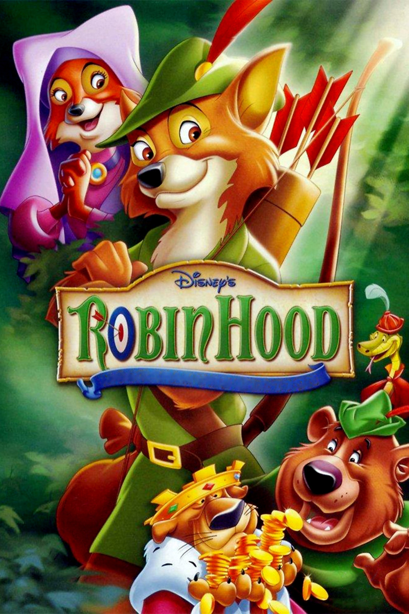 Image result for robin hood 1973 poster
