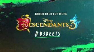 D3Deets On Location! Descendants 3
