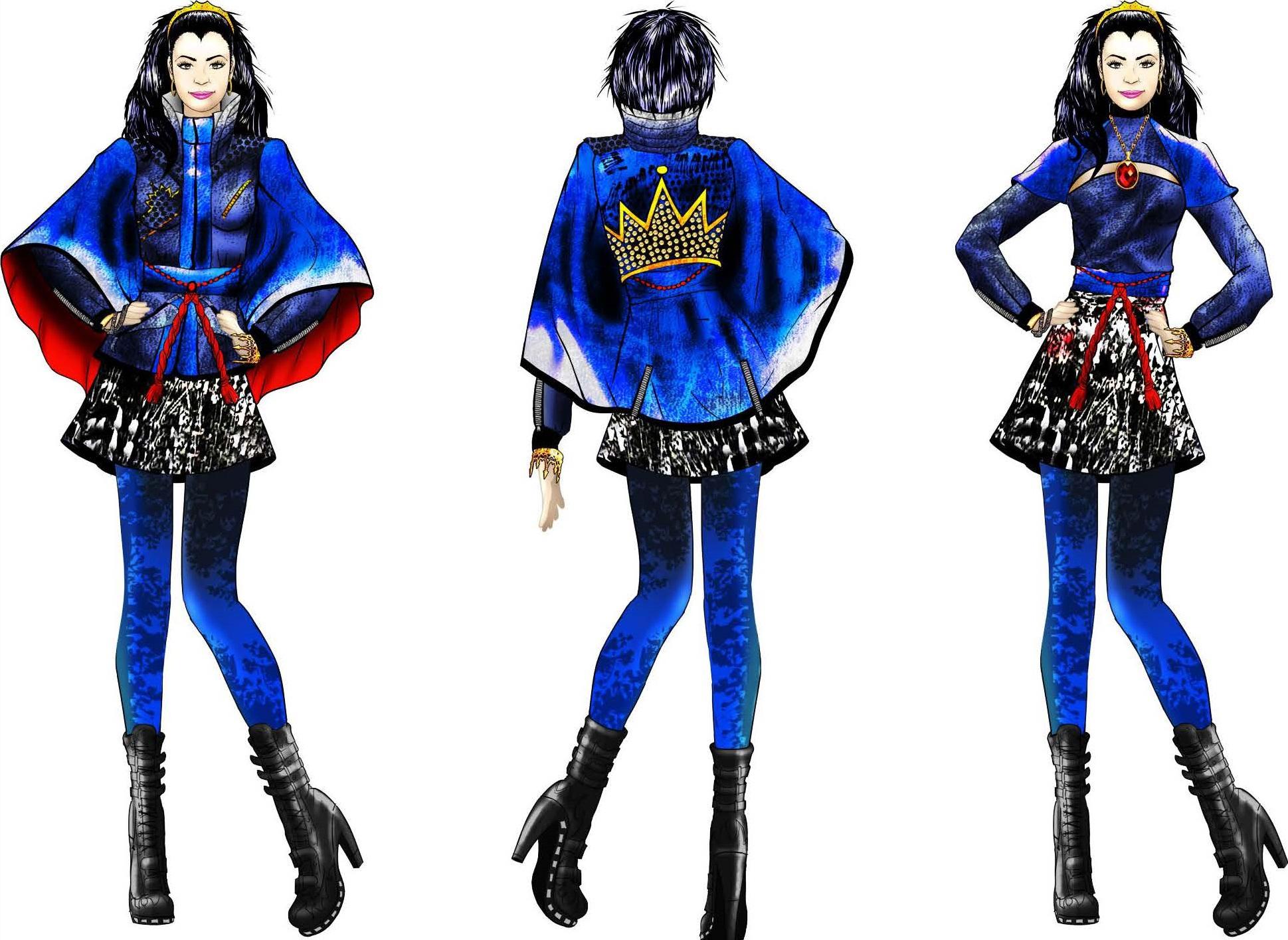 Image - Evie's costume concept.jpg | Descendants Wiki | FANDOM ...