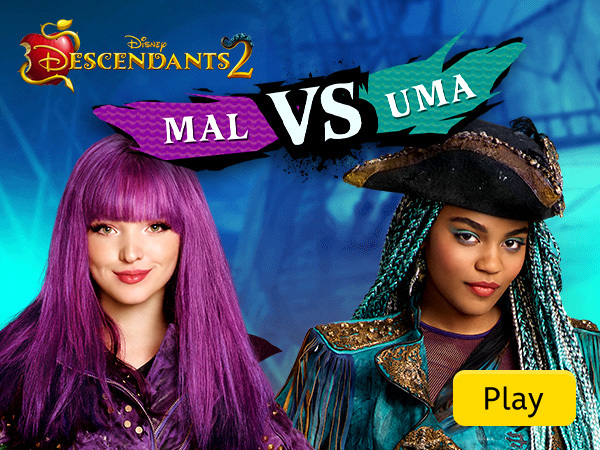 Descendants 2 Mal vs Uma Descendants