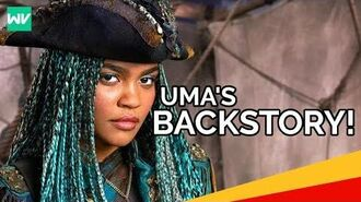 Uma's Backstory! - Ursula's Necklace, Crew and Hatred for Mal Descendants 2