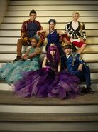 Descendants 2 Royal Cotillion Cast