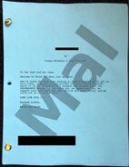 D3 Cast Rehearsals - Mal Script