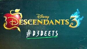 -D3 Deet- Who is Hades? 🔥💙 - Descendants 3