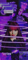 -wallpaper -aesthetic -purple -descendants -disney