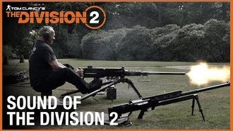 Tom Clancy's The Division 2 Behind the Scenes The Sound of The Division 2 Ubisoft NA