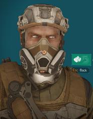 Reclaimer mask