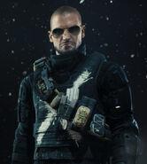 Barrets bulletproof vest