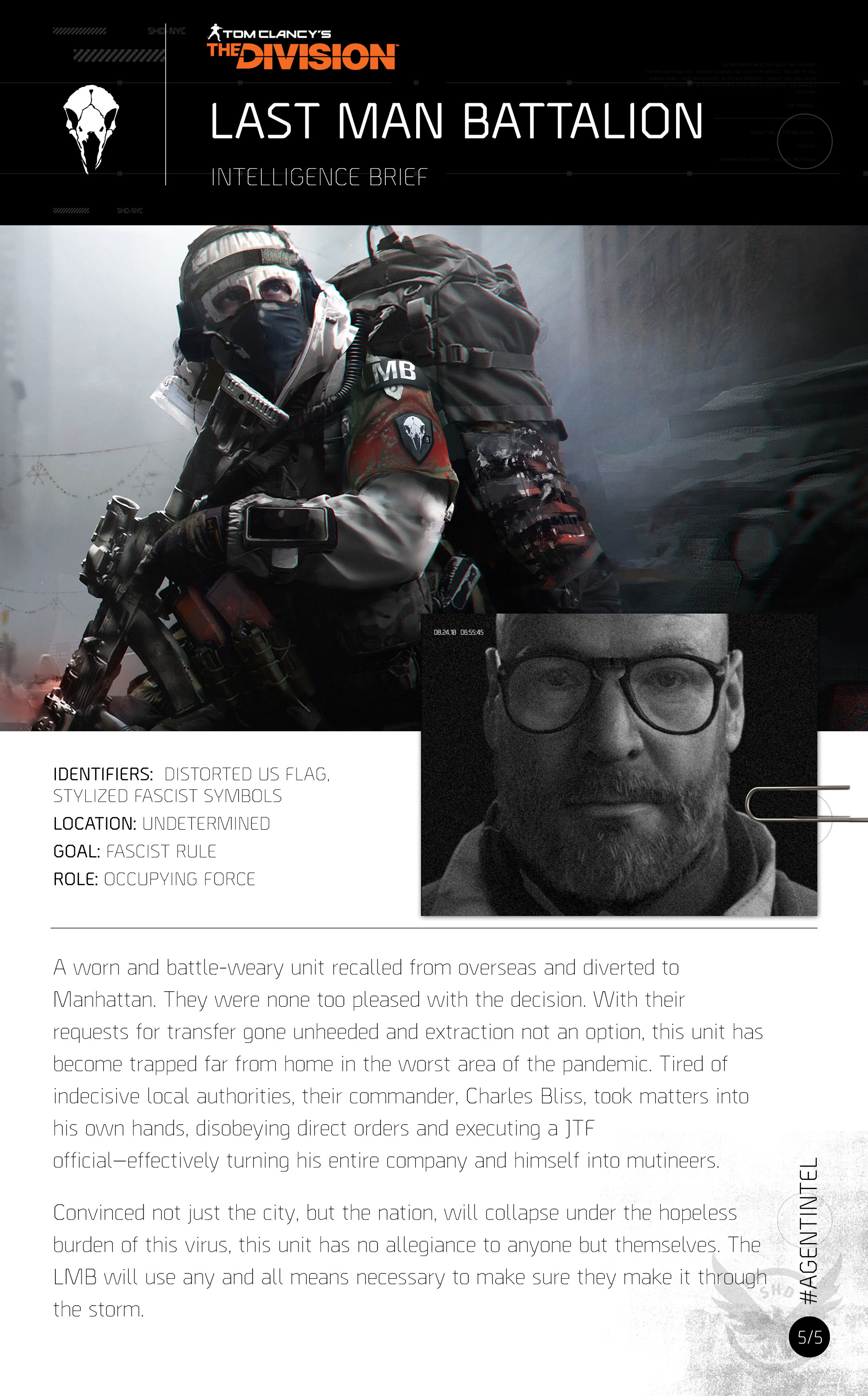 Last Man Battalion   The Division Wiki   FANDOM powered by Wikia