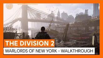 THE DIVISION 2 - WARLORDS OF NEW YORK - ANUNCIO MUNDIAL WALKTHROUGH