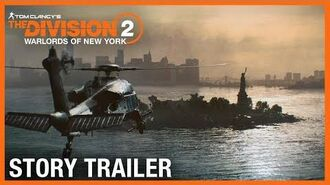 Tom Clancy's The Division 2 Warlords of New York Story & Character Trailer Ubisoft NA