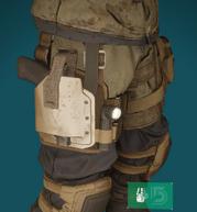 Reclaimer holster