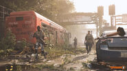Overgrown bus - The Division 2