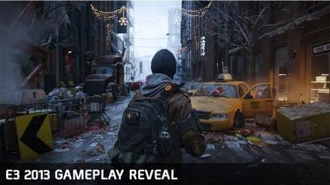 Tom Clancy's The Division - E3 Gameplay reveal