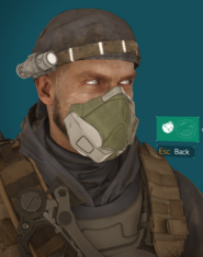 Deadeye mask