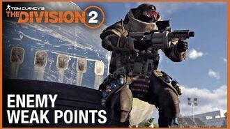 Tom Clancy's The Division 2 Tips & Tricks Weak Points Ubisoft NA