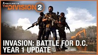 Tom Clancy's The Division 2 Year 1 Update - Invasion Battle for D.C. Ubisoft NA