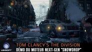 Moteur nouvelle génération Snowdrop Tom Clancy's The Division FR
