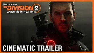 Tom Clancy's The Division 2 Warlords of New York World Premiere Cinematic Trailer Ubisoft NA